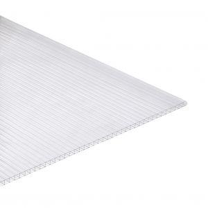 Polycarbonaat kanaalplaat 16mm 105x250cm glashelder