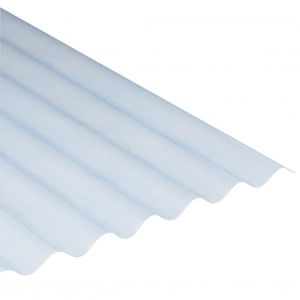 Polyester golfplaat 130/30 122x103cm