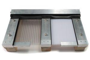 Polycarbonaat Kanaalplaat Dakpakket 500x250cm opaal