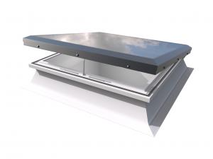 Vlak Glasraam met Elektrische Ventilatie Opstand 60x90