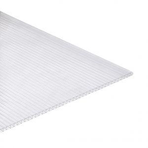 Polycarbonaat kanaalplaat 16mm 98x350cm glashelder