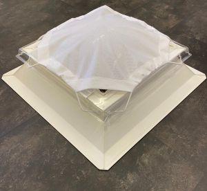 Zonnedoek voor lichtkoepel 80x80cm